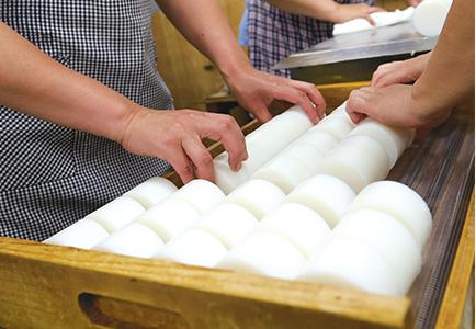 豆腐職人の手 滑如絲綢